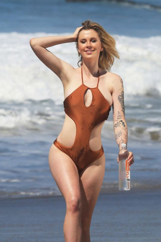 IRELAND BALDWIN in Swimsuit for 138 Water at a Beach in Malibu 03/20/2019