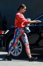 IRINA SHAYK Leaves a Gym in Los Angeles 03/13/2019