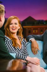 ISLA FISHER at Late Late Show with James Corden in Los Angeles 03/05/2019