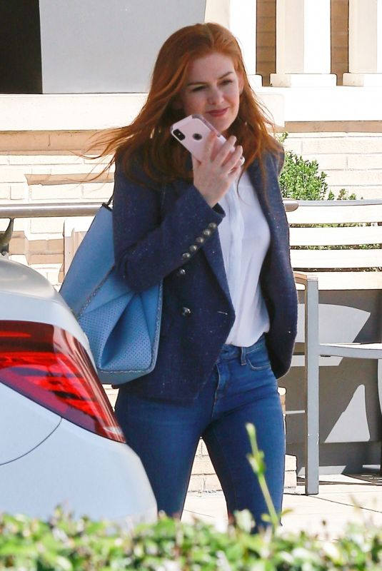 ISLA FISHER Out and About in Beverly Hills 03/18/2019
