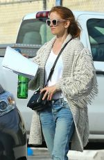 ISLA FISHER Out and About in West Hollywood 03/04/2019