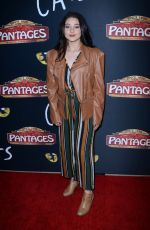 ISSIE SWICKLE at Cats Opening Night Performance in Hollywood 02/27/2019