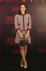 IVANA BAQUERO at Feedback Photocall in Madrid 02/27/2019