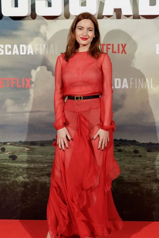 IVANA BAQUERO at The Highwaymen Premiere in Madrid 03/25/2019
