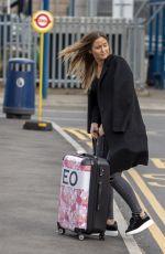 JACQUELINE JOSSA Arrives at Heathrow Airport in London 03/16/2019