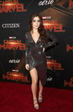 JADE PICON at Captain Marvel Premiere in Hollywood 03/04/2019