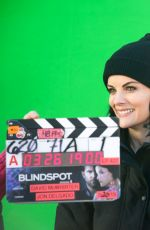 JAIMIE ALEXANDER on the Set of Blindspot, Season 4 03/26/2019