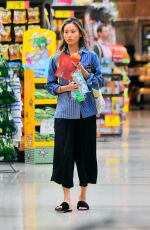 JAMIE CHUNG Out Shopping in Los Angeles 03/19/2019