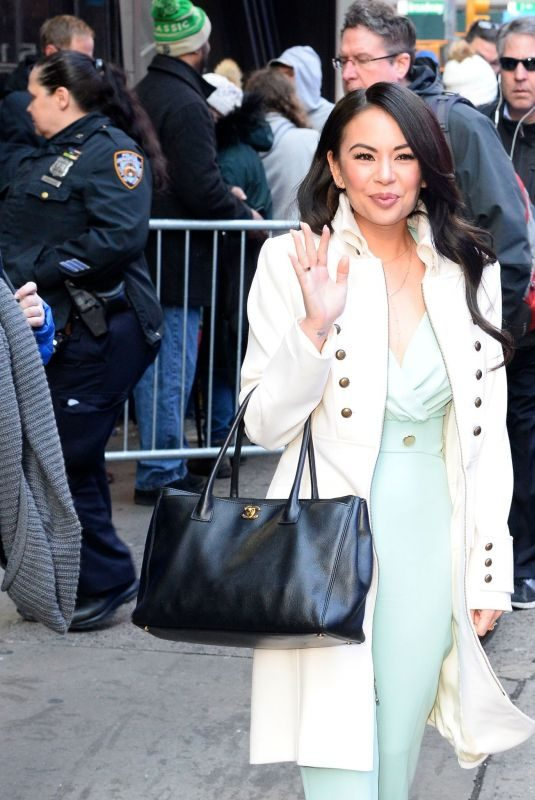 JANEL PARRIS Arrives at Good Morning America in New York 03/20/2019