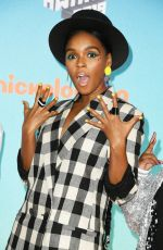 JANELLE MONAE at Nickelodeon