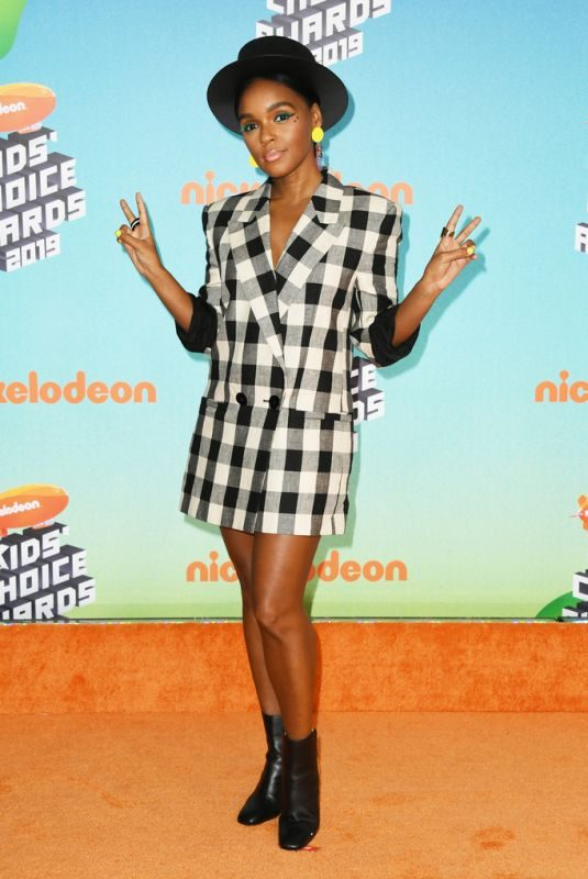 JANELLE MONAE at Nickelodeon's Kids' Choice Awards 2019 in Los Angeles 03/23/2019