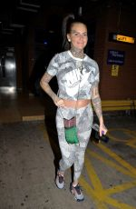 JEMMA LUCY Leaves a Gym in Manchester 03/21/2019
