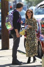 JENNA DEWAN and Steve Kazee Out in West Hollywood 03/16/2019