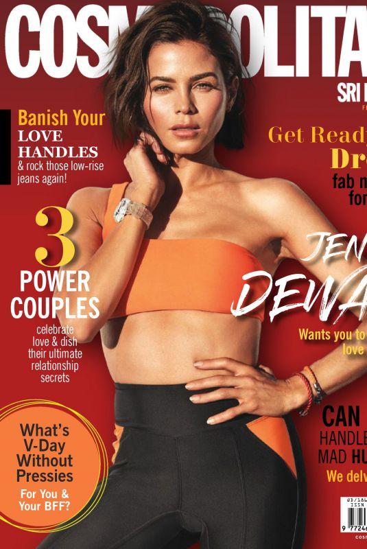JENNA DEWAN in Cosmopolitan Magazine, Sri Lanka February 2019