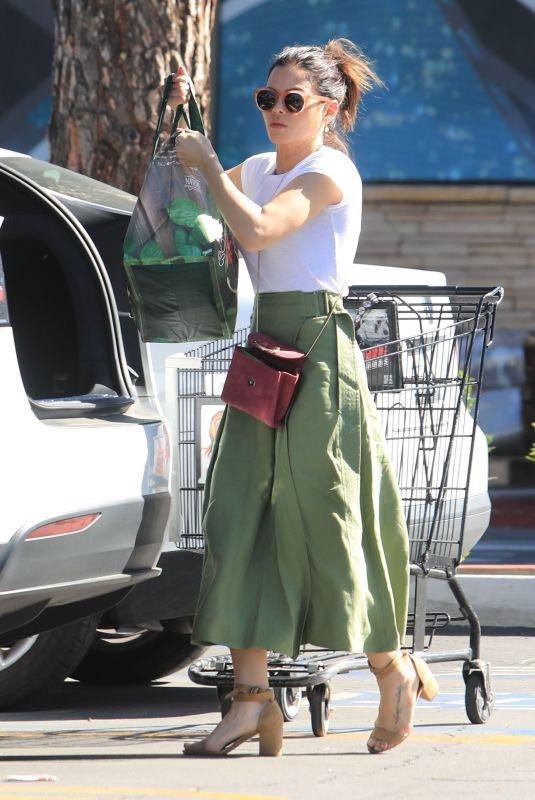 JENNA DEWAN Out Shopping in Studio City 03/17/2019