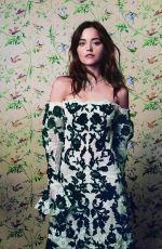 JENNA LOUISE COLEMAN for Harper