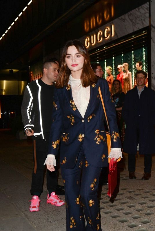 JENNA LOUISE COLMEAN Arrives at Gucci and Zumi Event in London 03/28/2019