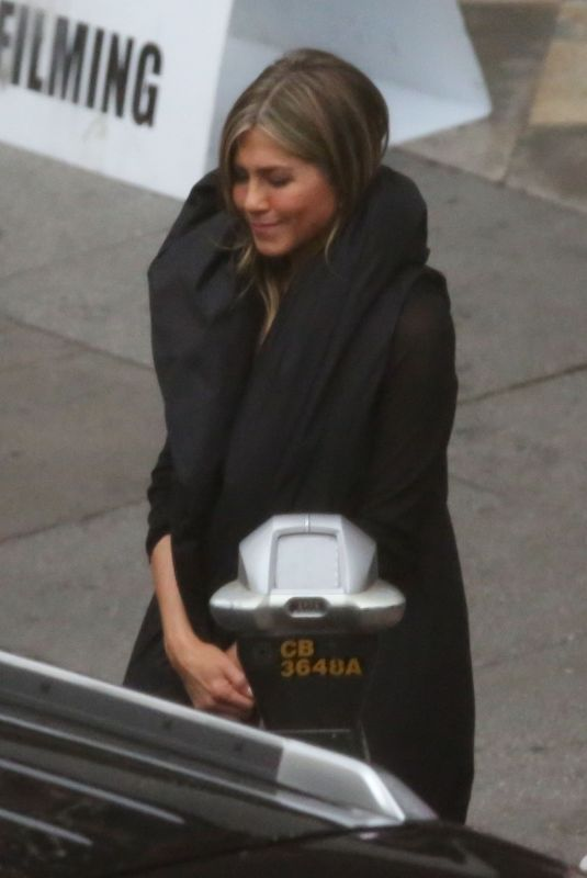 JENNIFER ANISTON on the Set of Murder Mystery in Los Angeles 03/19/2019