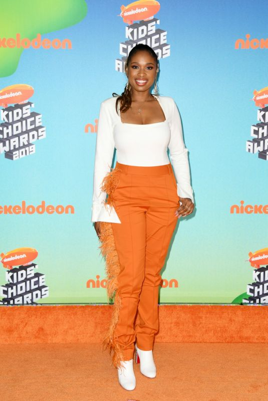 JENNIFER HUDSON at Nickelodeon