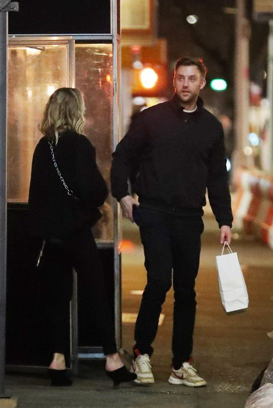 JENNIFER LAWRENCE and Cooke Maroney Out in New York 03/17/2019