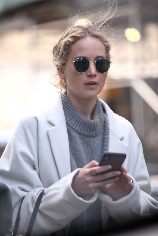 JENNIFER LAWRENCE Out and About in New York 03/14/2019