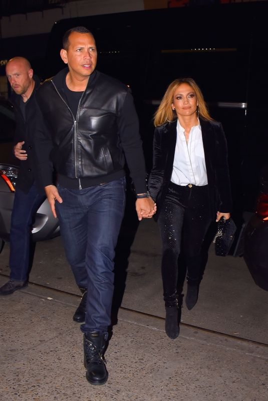 JENNIFER LOPEZ and Alex Rodriguez Out for Dinner in New York 03/16/2019