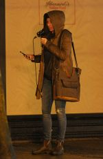 JESSICA BIEL on the Set of Facebook Watch Series Limetown in Vancouver 03/08/2019