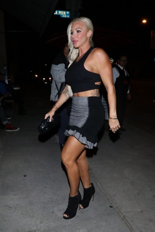JESSICA CANSECO at Craig's Restaurant in West Hollywood 03/29/2019