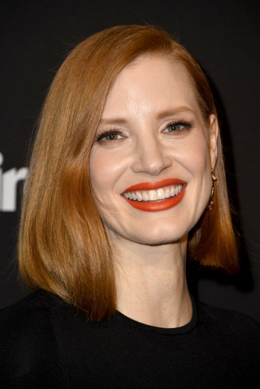 JESSICA CHASTAIN at Marie Claire Honors Hollywood