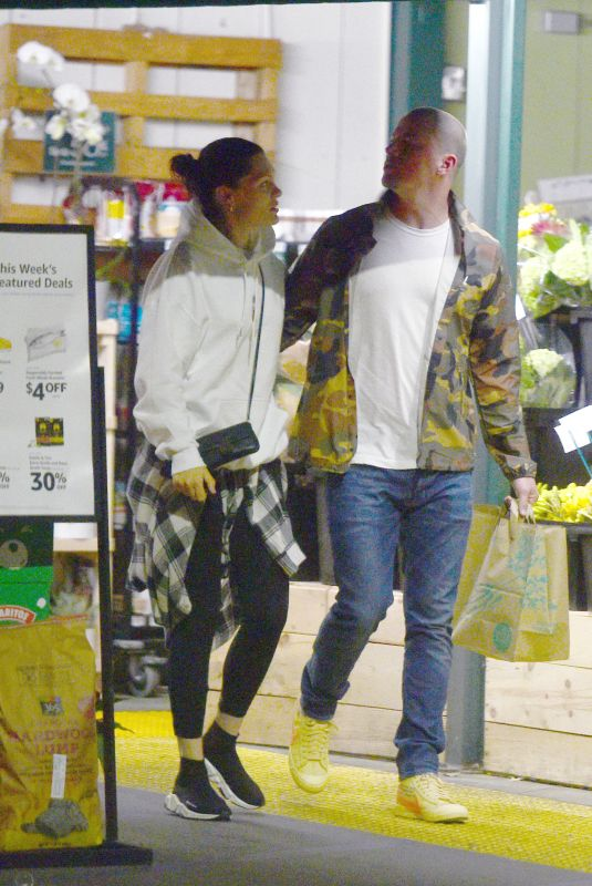 JESSIE J and Channing Tatum Out Shopping in Los Angeles 03/25/2019