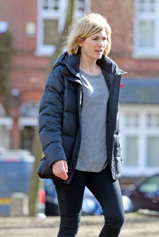 JODIE WHITTAKER Out and About in London 03/14/2019