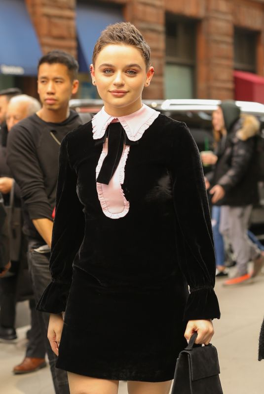 JOEY KING Arrives at Build Series in New York 03/14/2019
