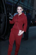 JOEY KING Arrives at Today Show in New York 03/14/2019
