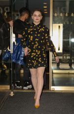 JOEY KING Leaves Her Hotel in New York 03/14/2019