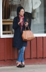 JORDANA BREWSTER Out in Brentwood 03/06/2019