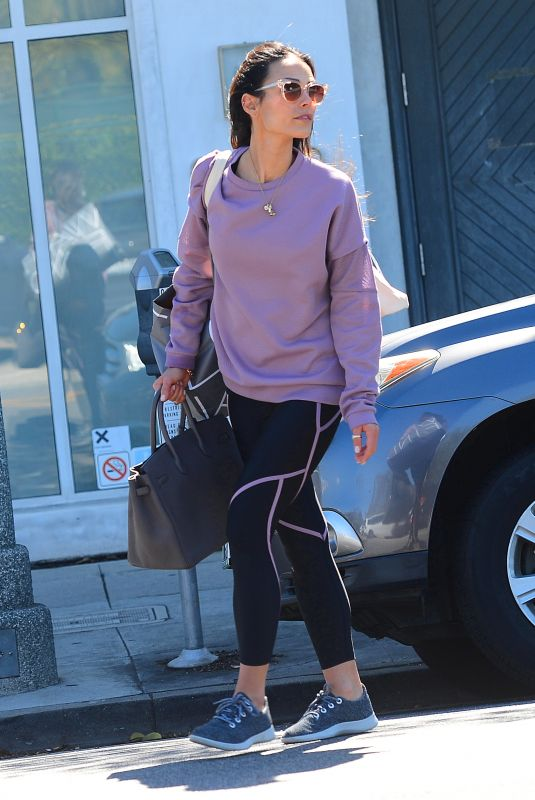 JORDANA BREWSTER Out Shopping in Beverly Hills 03/12/2019
