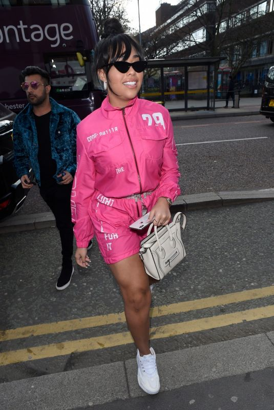 JORDYN WOODS Out and About in Manchester 03/30/2019