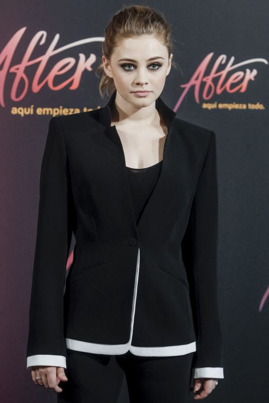 JOSEPHINE LANGFORD at After, Aqui Empieza Todo Photocall in Madrid 03/26/2019