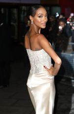 JOURDAN DUNN at National Portrait Gallery Gala in London 03/12/2019
