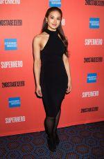 JULIA ABUEVA at Superhero Play Opening Night in New York 02/28/2019