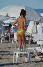 JULIA PEREIRA in Bikini at a Beach in Miami 03/02/2019