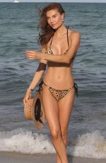 JULIA PEREIRA in Bikinis at a Photoshoot in Miami 03/03/2019