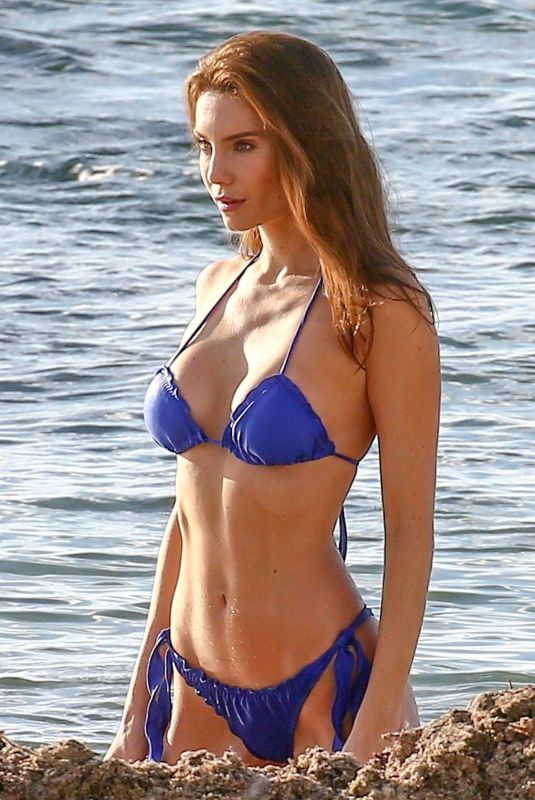 JULIA PEREIRA in Bikinis on the Set of a Photoshoot in Miami 03/01/2019