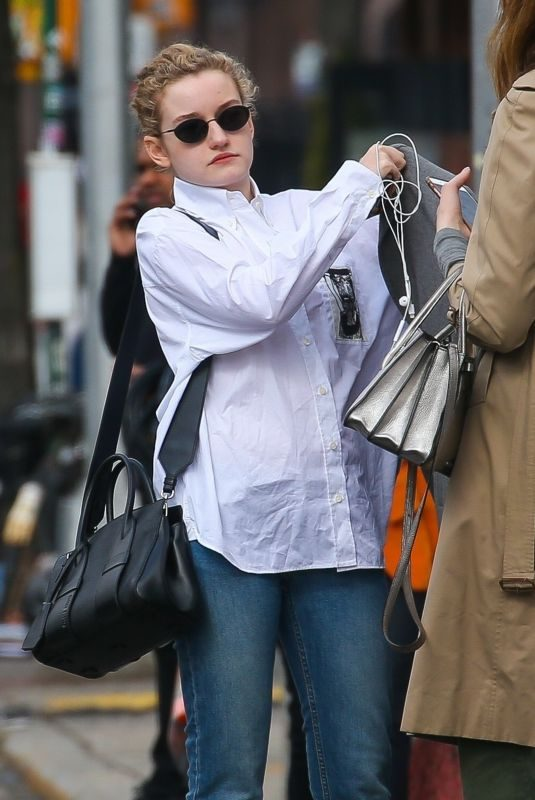 JULIAGARNER Out and About in New York 03/15/2019