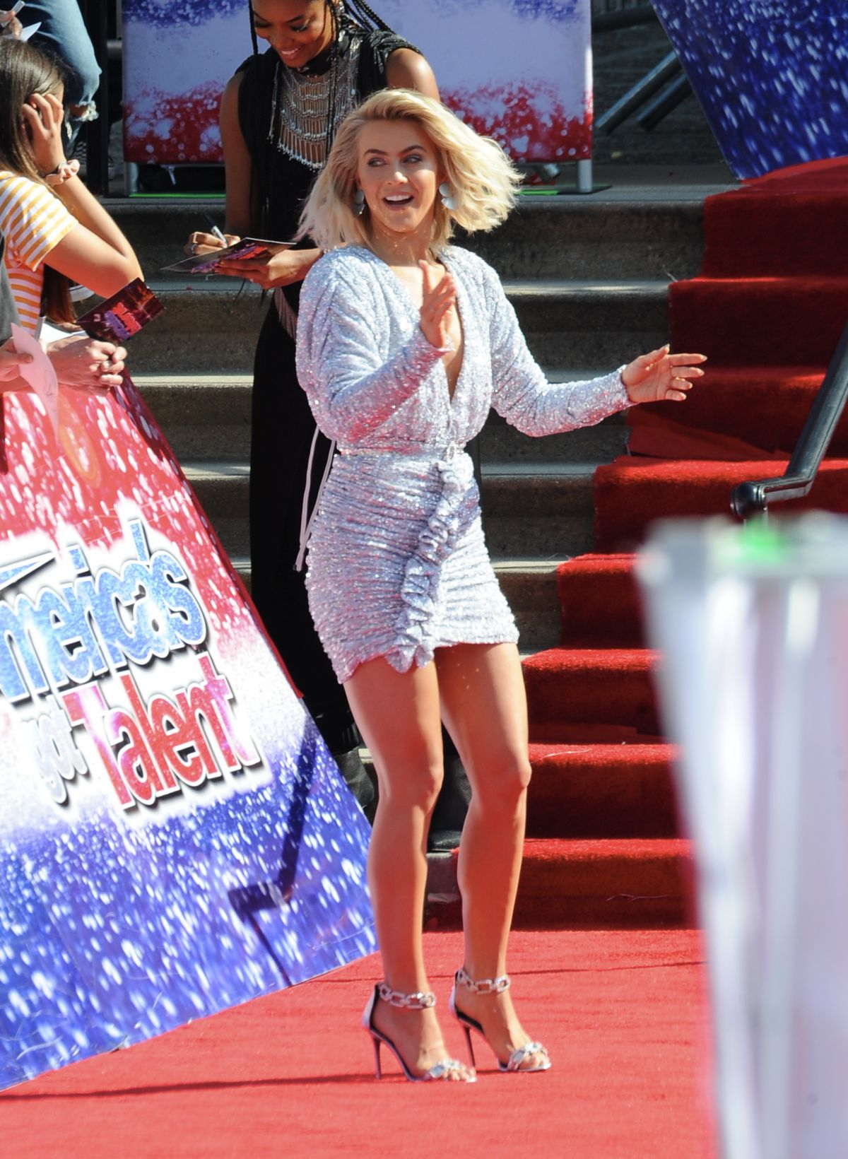 America S Miss World 2017 And Miss Teen World America 2017: JULIANNE HOUGH At America's Got Talent Auditions In