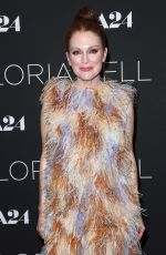 JULIANNE MOORE at Gloria Bell Screening in New York 03/04/2019