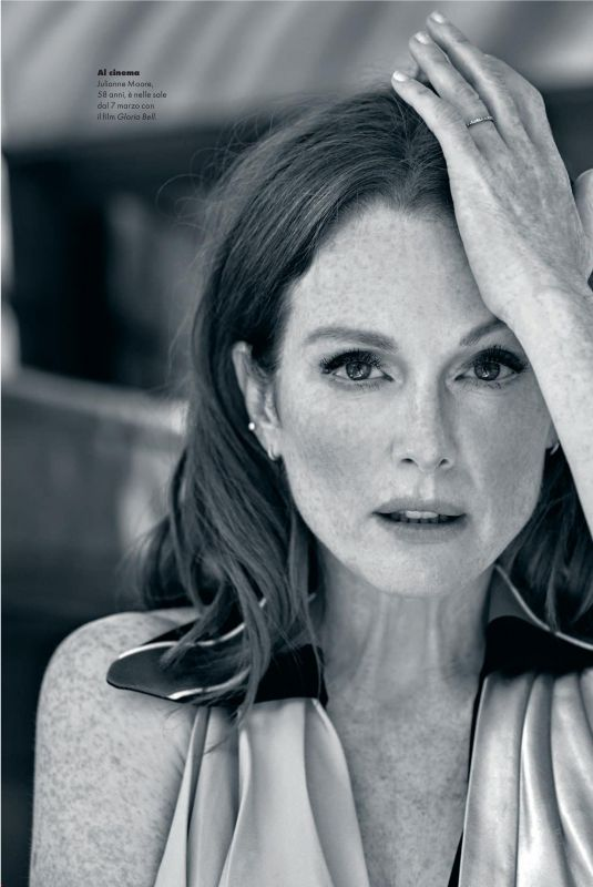 JULIANNE MOORE in Elle Magazine, Italy March 2019
