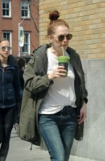 JULIANNE MOORE Out and About in New York 03/30/2019