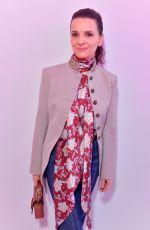 JULIETTE BINOCHE at Chloe Show at Paris Fashion Week 02/28/2019