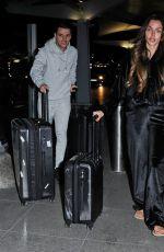 KADY MCDERMOTT at Heathrow Airport in London 03/14/2019